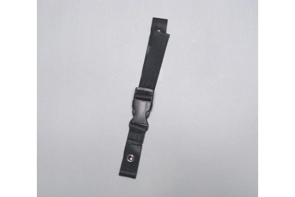back strap Hohner 5001 - textile band, black