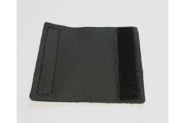 buckle covers IT leather black