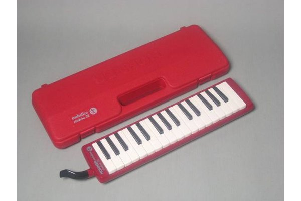 Mélodica Hohner Student 32 rouge