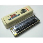 harmonica Hohner Big River Harp - different major-types