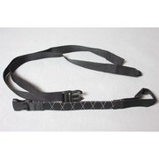 1 lashing strap for accordion trolleys black - ROK STRAPS