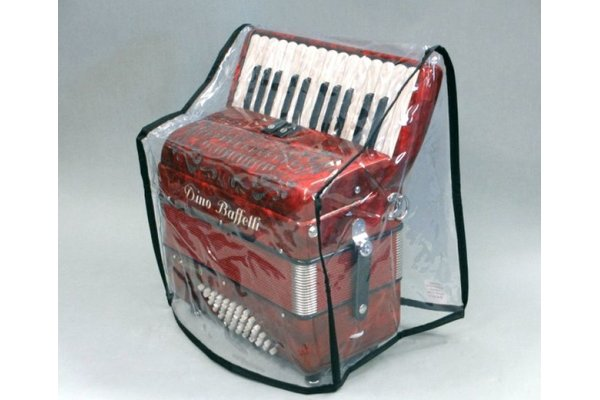cover for accordions with transparent different sizes