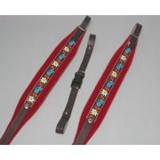 accordion shoulder strap 48 bass - IT347 Folklore Red