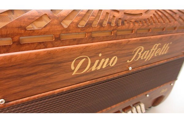 Dino Baffetti Proffessional I A compact 37/96 Musette wood color