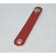 bellow strap Hohner 23007 brick red /white - 100 mm
