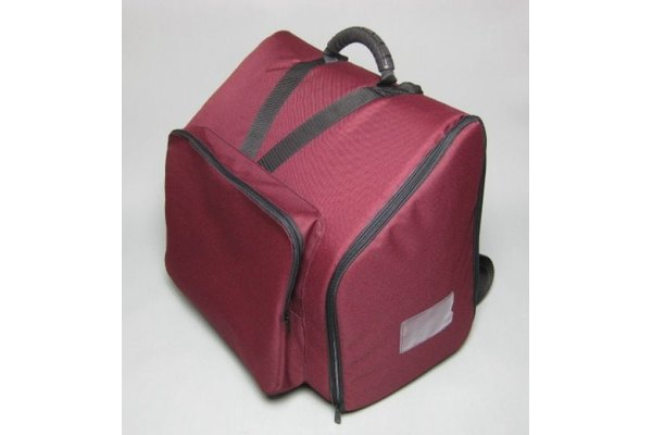 bag for accordion 72 bass - SLM deluxe, wine red